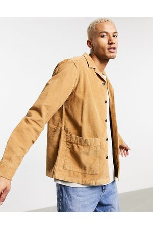 ASOS Giacca color tabacco a coste