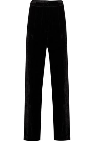Sleeping with Jacques Donna Loungewear - Pantaloni con effetto velluto