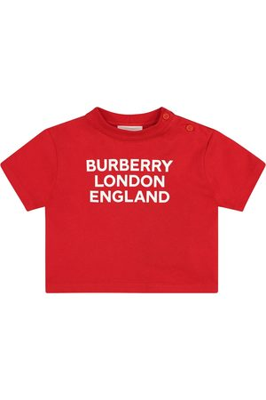 Burberry Baby - T-shirt a stampa in cotone