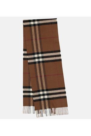 Burberry Donna Sciarpe - Sciarpa a quadri in cashmere