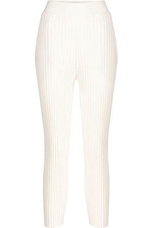 Stella McCartney Pantaloni in misto lana