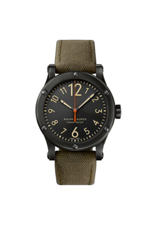 Ralph Lauren Uomo Orologi - Cronometro 45 MM in acciaio