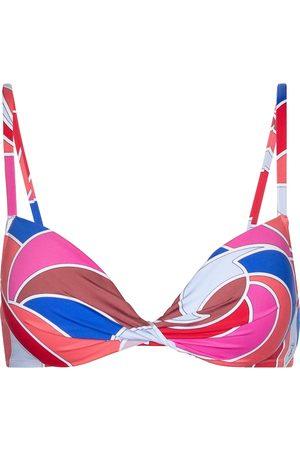 Emilio Pucci Top bikini a stampa