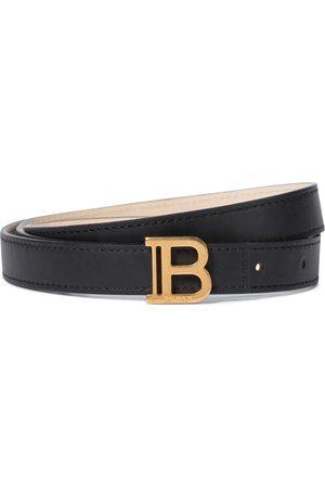 Balmain Cintura B-Belt in pelle