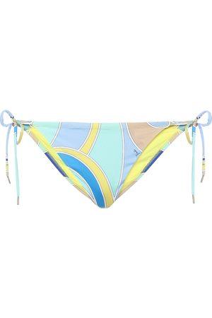 Emilio Pucci Slip bikini a stampa