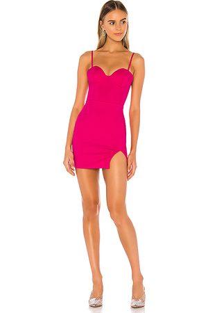 superdown Oliviah Bustier Mini Dress in - Pink. Size L (also in XXS, XS, S, M, XL).