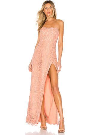 NBD Donna Vestiti - Marry Gown in - Peach. Size L (also in XXS, XS, S, M, XL).