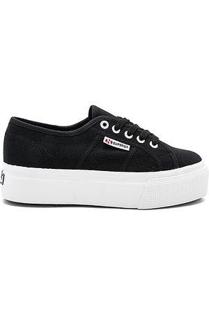 Superga 2790 Platform Sneaker in - Black. Size 10 (also in 6, 6.5, 7, 7.5, 8, 8.5, 9, 9.5).