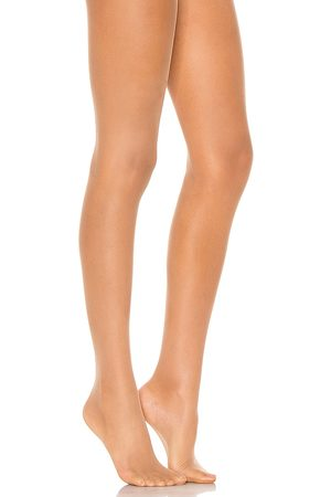 Wolford Individual 10 Tights in - Tan. Size M (also in S, XS).