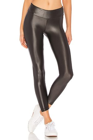 Koral Lustrous Legging in - Charcoal. Size L (also in M, S, XS).