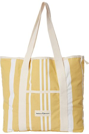 business & pleasure co. The Beach Bag in - Yellow. Size all.