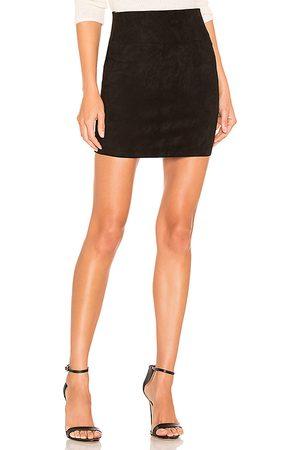 SPRWMN Suede Mini Skirt in - . Size L (also in XS).