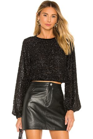 House of Harlow X REVOLVE Meera Top in - Black. Size L (also in M, S, XL, XS, XXS).