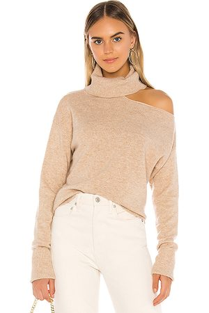 Paige Raundi Sweater in - Taupe. Size L (also in XS).