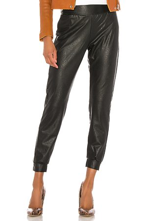 Commando Faux Leather Jogger in - . Size M (also in S, XS).