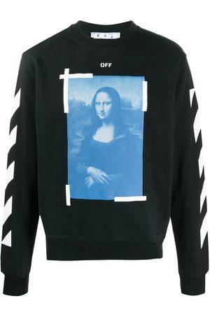 Off-White Felpa con stampa Moda Lisa