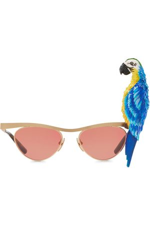 Dolce & Gabbana Occhiali da sole cat-eye Tropical Parrot