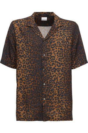 KSUBI Camicia In Rayon Stampato