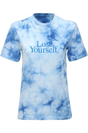 "Paco rabanne T-shirt ""lose Yourself"" In Jersey Di Cotone"