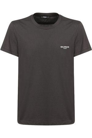 Balmain T-shirt In Cotone Organico Con Logo