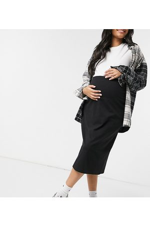Outrageous Fortune Maternity Esclusiva - Gonna longuette fasciante nera