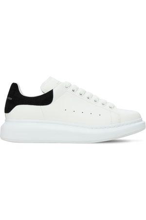 Alexander McQueen Donna Sneakers - Sneakers In Pelle Con Stampa Coccodrillo 45mm