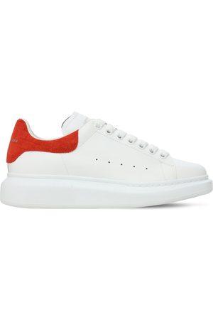 Alexander McQueen Sneakers In Pelle Con Stampa Coccodrillo 45mm