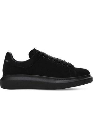 Alexander McQueen Sneakers In Camoscio Con Platform 45mm
