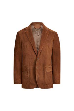Polo Ralph Lauren Uomo Giacche di pelle - Giacca Polo in camoscio