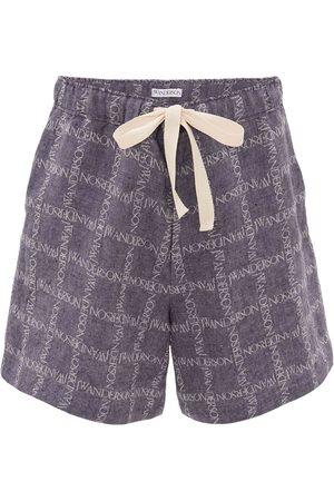 J.W.Anderson Pantaloncini - Shorts con stampa
