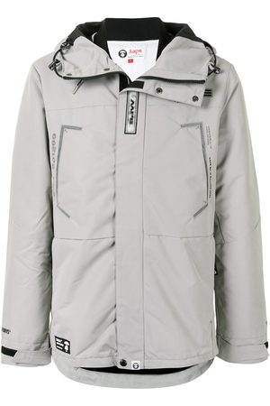 AAPE BY *A BATHING APE® Parka con stampa