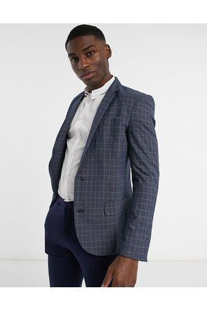 New Look Uomo Abiti eleganti - Giacca da abito skinny a quadri