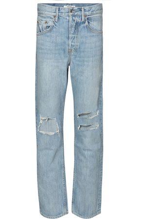 GRLFRND Jeans Isabeli a vita alta distressed
