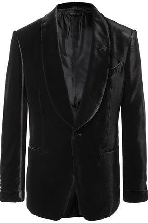 Tom Ford Shelton Slim-Fit Shawl-Collar Velvet Tuxedo Jacket