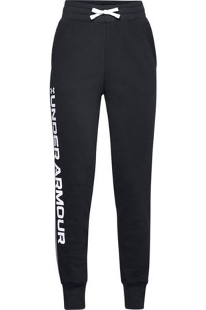 Under Armour Rival Fleece - pantaloni fitness - bambina. Taglia YL