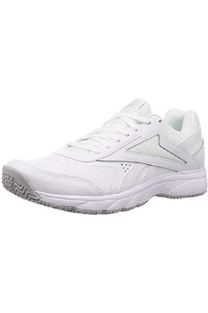Reebok Work N Cushion 4.0, Scarpe da Ginnastica Mens, White/Cold Grey 2/White, 44.5 EU