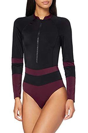 AURIQUE Marchio Amazon - Monokini Sportivo Donna, ., XS, Label:XS