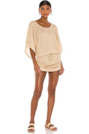 Luli Fama Donna Vestiti da spiaggia - Cosita Buena South Beach Dress in - Beige. Size M (also in XS, S).