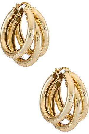 Electric Picks Jewelry Donna Orecchini - Nirvana Earrings in - Metallic . Size all.