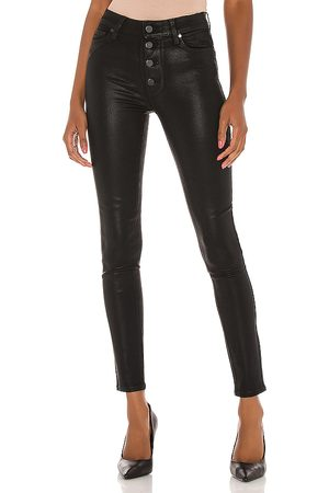 Paige Donna Hoxton Ultra Skinny With Exposed Buttonfly in . Size 24 (also in 25, 26, 27, 28, 29, 30).