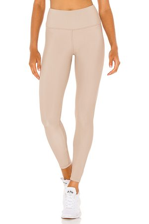 STRUT-THIS Donna Leggings & Treggings - Kendall Ankle Legging in - Beige. Size L (also in XS, S, M, XL).