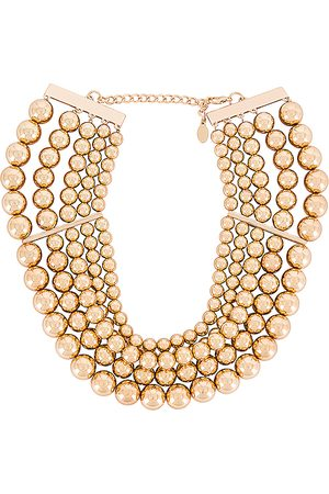 8 Other Reasons Donna Collane - Amber Necklace in - Metallic . Size all.