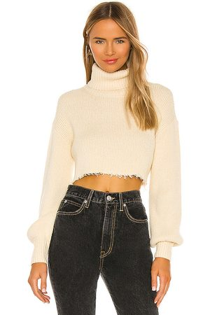 L'Academie Lucia Cropped Turtleneck in - . Size L (also in XS, S, M, XL).