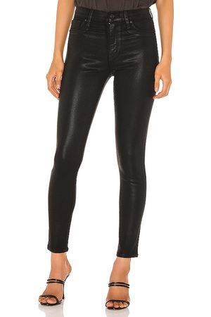 Hudson Barbara Ankle Super Skinny in - Black. Size 23 (also in 24, 25, 26, 27, 28, 29, 30).