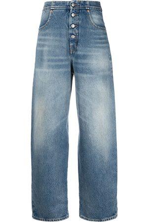 MM6 MAISON MARGIELA Jeans affusolati a vita alta