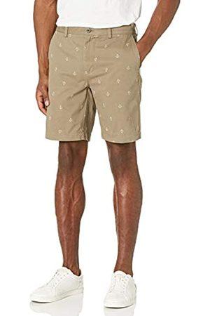 "Amazon Slim-Fit 9\"" Print Short Pantaloncini, , W32"