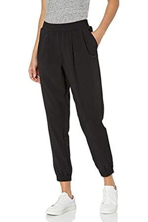 Daily Ritual Pantaloni da Jogging in Tessuto Elasticizzato con Polsini a Costine Pants, , US L
