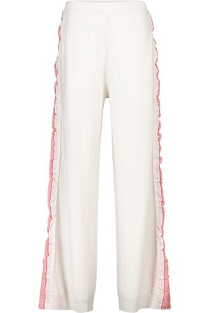 Stella McCartney Pantaloni sportivi in lana vergine
