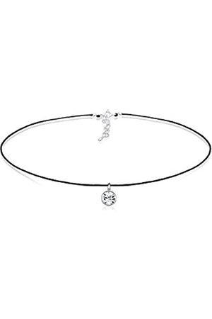 Elli Collana Gargantilla para damas con cristales de Swarovski® en plata esterlina 925