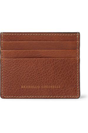 Brunello Cucinelli Uomo Portafogli e portamonete - Full-Grain Leather Cardholder